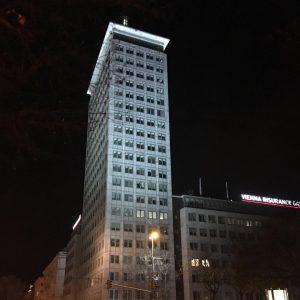Austria#österreich#wien#vienna#ringturm#hochhaus#stadt#city#nacht#night Vienna
