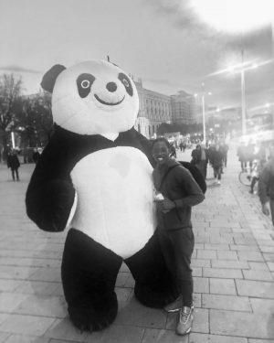 I don't got no broads in Atlanta but I'm into desiigner like panda