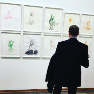 ERWIN WURM @albertinamuseum #artblog #contemporaryart #modernart #albertina #albertinamuseum