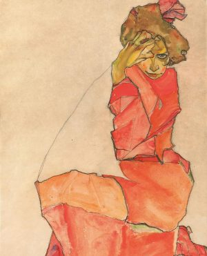 Happy Friday 🤗 Have you ever seen this drawing by #EgonSchiele ? It is called