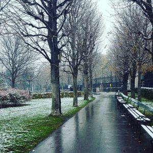 Der erste Schnee! Juhu! Chaos auf den Straßen, verspätete U-Bahnen und die schöne Tradition, dass es bei...