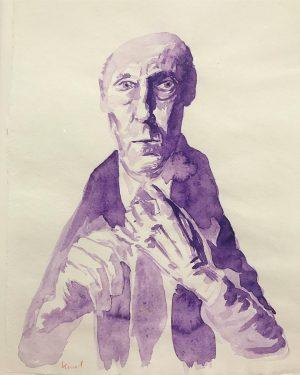 #erwinwurm #art #contemporaryart #artexhibition #artmuseum #drawing #portrait #workonpaper #albertinamuseum #vienna