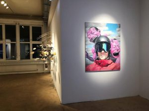 Back to Vienna! #vienna #kunstlerhaus #exhibition #soldout #viennaartweek #artweek #stjepansandrk #minjun #oilpainting
