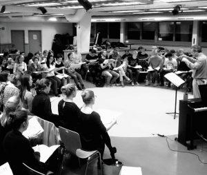 2 Chöre und 100 Sängerinnen und Sänger bei der Probe ♡ ...Und das ist erst der Anfang!...