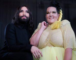 @conchitawurst und @nettabarzi sind zwei verwandte Seelen, die den den @eurovision-Contest gewinnen konnten. In der @grelle_forelle traten...