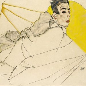 Time for another piece of the collection 😉 This is a detail of the #drawing by #EgonSchiele...