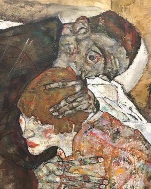 Эгон Шиле. Смерть и дева. Название картины и художественного фильма. Кто уже посмотрел? #artweekend #vienna #belvedere