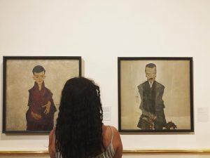 #egonschiele and me. 📍@belvederemuseum