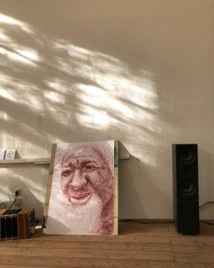 kunst ist kopfsache. #constantinluser #studioimpression #oldpiece