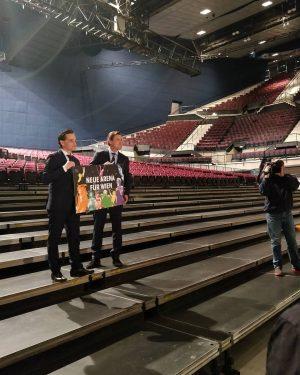 Wien bekommt eine neue Indoor-Multifunktionsarena für Großveranstaltungen. Geschäftsführer Kurt Gollowitzer und Stadtrat Peter Hanke präsentierten gestern das...