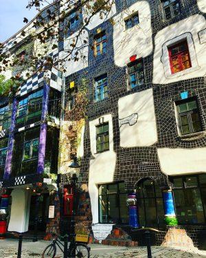 #hundertwasser #lifeintechnicolor #wien🇦🇹🎨 Hundertwasserhaus, Vienna