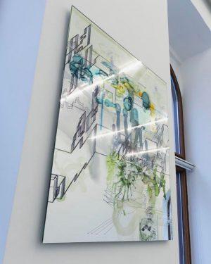 Constantin Luser at CRONE WIEN #contemporaryart #zeitgenössischekunst #artgallery #sculpture #artvienna #kunstinwien #constantinluser @studio_constantinluser