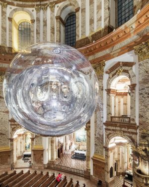 A premiere at Vienna's Karlskirche: magnificent baroque building to provide setting for contemporary art installation Aerocene by...