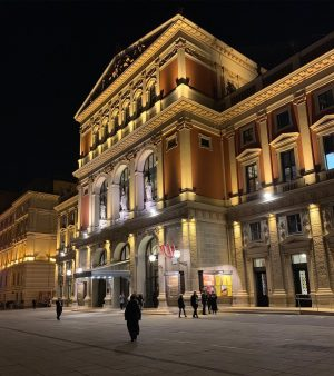 The Musikverein is truly one of the most gorgeous concert halls in the world and I am...