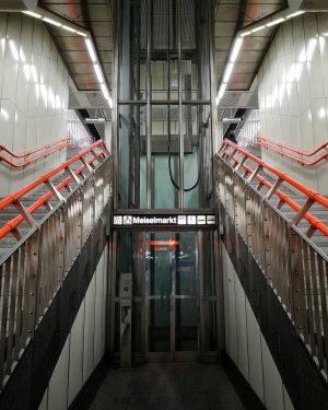 Vienna Underground . U-Bahn Station Johnstrase, U3 . . . . . . #vienna #underground #ubahn #station...