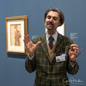 anschließend noch ein Besuch bei Egon Schiele in der Orangerie Vielen Dank an das Belvedere und unseren...