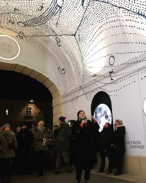 opening of @sternenpassage ✨✨❄️