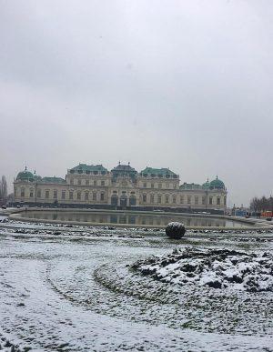 White Vienna #snow #vienna #klimt #museum #art #friends #beautiful
