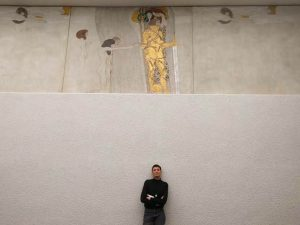 #beethovenfrieze #myself #vienna #viennasecession #klimt