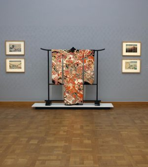 At @kunstforumwien some of the famous original prints that are also featured in the movie 'Miss Hokusai...