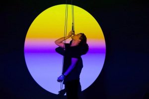 Andreas Spechtl & Thomas Köck - ghostdance #impulstanz18 #artandperformance #ghost #dance #latenightconversations #utopia #turntables #synthesizer #twentiethcentury #pastandpresent...