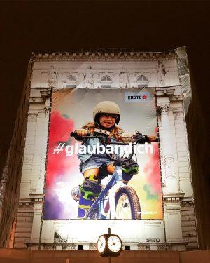 💪Motivations-Poster💪gewinnen: Wir verlosen 10 #glaubandich-Poster. Zwar nicht in der Größe wie auf der Wiener Mariahilfer Straße, aber...