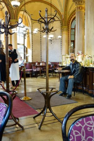 In 1913 you could meet Tito, Freud, Hitler, Lenin, and even Trotsky in Vienna's fabulous Café Central!...
