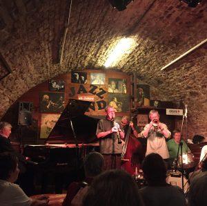 Cracking birthday weekend in Vienna - went to a great underground jazz venue.. ...