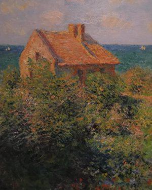 📍ALBERTINA Claude Monet The Fisherman's House at Varengeville 1882