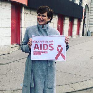 Vor allem als Ärztin ist es mir wichtig am heutigen Welt-Aids-Tag ein Zeichen der Solidarität zu setzen....