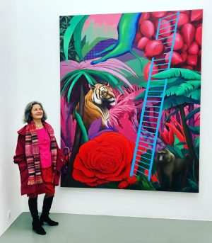 @galerie_crone #saharzukerman #exhibition #opening CRONE
