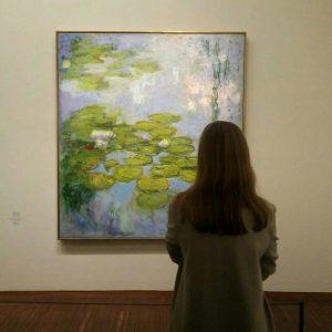 Продолжаю традицию любоваться в живую картинами любимых художников 💕 В этот раз это картины Клода Моне