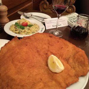 Was reminded of this dish by @iesimpson who was in Vienna earlier in the week. Fantastic Schnitzel...