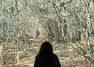 Into the woods #Art #franzgertsch #vienna #painting #viennacontemporary #albertinacontemporary #amazingart
