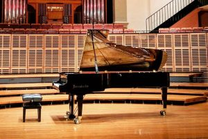 The #brilliant #bösendorfer #280vc #concertgrand on #stage wait for the #great #pianist to #play this #instrument for...