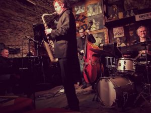 Went to see Eric Alexander at Jazzland in Vienna and the band were ...