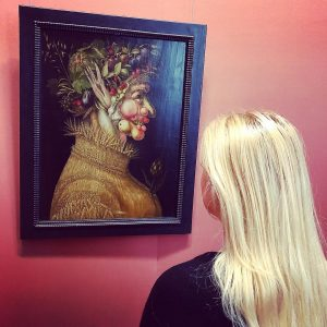 I admire Arcimboldo's art so much! His art is truly one of a kind. 🎨