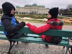 ♥️🥰 • • #visit_vienna #belvedere #palace 🇵🇱