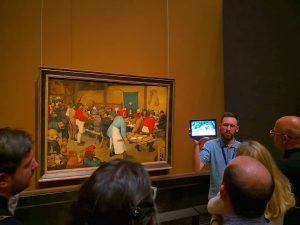 """InstaMeet im Kunsthistorischen Museum anlässlich """"Bruegel"""" Pieter Bruegel d. Ä. - Bauernhochzeit, um 1567 #bruegel #pieterbruegel #bruegel2018..."""
