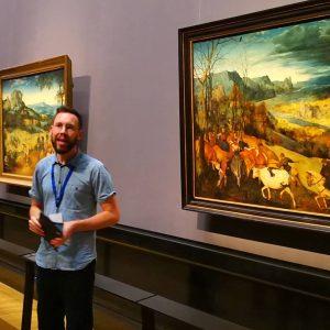"InstaMeet im Kunsthistorischen Museum anlässlich ""Bruegel"" Pieter Bruegel d. Ä. #bruegel #pieterbruegel #bruegel2018 #onceinalifetime #kunsthistorischesmuseum #khmwien #museum..."