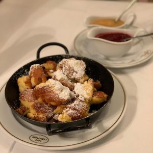 For @_krasavina and my last meal together, we had Kaiserschmarrn, or 'Emperor's Mess' as it was the...