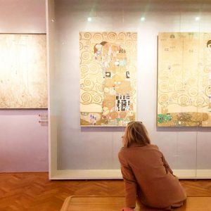 Gustav Klimt's the Fulfillment #klimt #vienna #mak