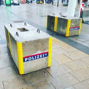Polizei. Mariahilferstraße