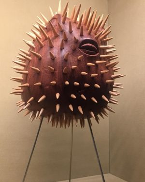 #woodart #stachelfisch #museum #kunsthistorischesmuseum #wesanderson #jumanmalouf #vienna