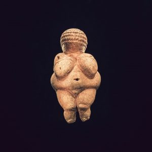 A close look at the 35000 years old amazing Venus of Willendorf. . #prehistoricvenus #ig_austria #vienna #design...