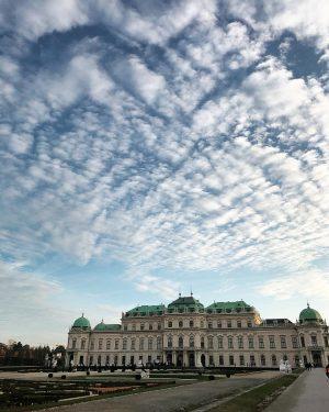 #belvedere #vienna🇦🇹 #vienna #austria #museum #travel #sky #cloud #upperbelvedere
