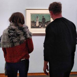 Edward Munch - The lonely ones #munchgraphics #albertina