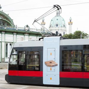 Have you spotted the Imperial Torte Bim/Tram of @wienerlinien yet? 🚃 . #imperialtorte handmade @ #imperialvienna ....