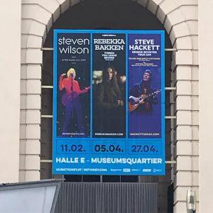 Das wird ein heißer Konzert-Frühling! #concert #hallee #mq #stevenwilson #rebekkabakken #stevehackett Halle EG im MQ