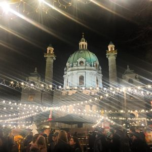 Last night in Vienna ✨ . #christmas #christmaslights #christmastime #merrychristmas #happyholidays #winter #christmasmarket #vienna #austria #europe #expat...